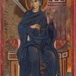 Богородица из Благовести, Милешева, 1287