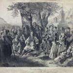Анастас Јовановић, Срби око певача (1848)