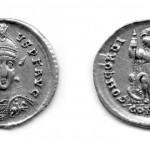 Хoнoриje (395-423), солид (злато), ковница: Константинопољ
