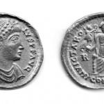 Приск Атал (409; 414-415), солид (злато), ковница: Рим