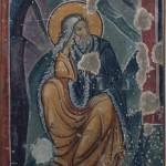 Св. Илију у пустињи храни птица, Морача