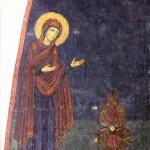 Пећ, Св. Апостроли, Богородица, деизис