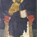 Пећ, Св. Апостоли, Христос, Деизис