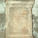 Вотивна ара, Орашје код Дубравице (Margum), 2-3. век