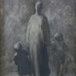 Оноре Домије, Мајка (На улици), 1868