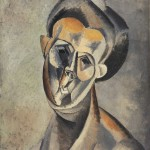 Пабло Пикасо, Глава жене, 1909
