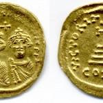Ираклије (610-641), AU солид