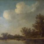 Јан ван  Гојен, Холандски пејзаж, 1647