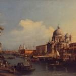 Антонио Каналето, Канал Гранде са црквом Санта Марија дела Салуте, 18. век