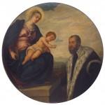 Тинторето Јакопо Робусти, Богородица с дететом и ктитором