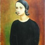 Мос Кислинг, Девојка у црној блузи, 1928