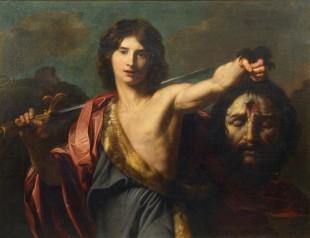 Nikolas Renije, David s Golijatovom glavom, posle 1626