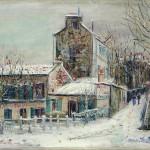 """Морис Утрило, Кабаре """"Lapin Agile II Montmatre"""" , 1930"""