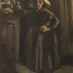 Винсент ван Гог, Сељанка, 1885