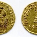 Констанс II (641-668), AU солид