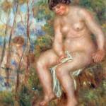 Пјер-Огист Реноар, Купачица, око 1915