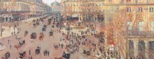 Камиј Писаро, Трг Француског позоришта, ефекат сунца, 1898