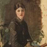 Анри де Тулуз-Лотрек, Портрет младе жене, око 1883