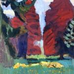 Анри Матис, Пурпурне букве, 1901