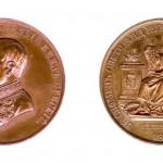 Споменица Светоандрејске скупштине, 1858, F. Müller, Бронза