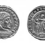 Кoнстaнтин I (306-337), милијарензе (сребро), ковница: Солун