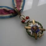 Орденски знак Таковског крста II реда 1909, Антон Фирст, Из заоставштине Јована Мишковића