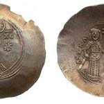 Манојло Комнин (1143-1180), elektrum, nomizma hiperpiron
