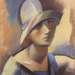Андре Лот, Портрет жене, 1925