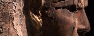 Београдска мумија, детаљ ковчега, Народни музеј у Београду