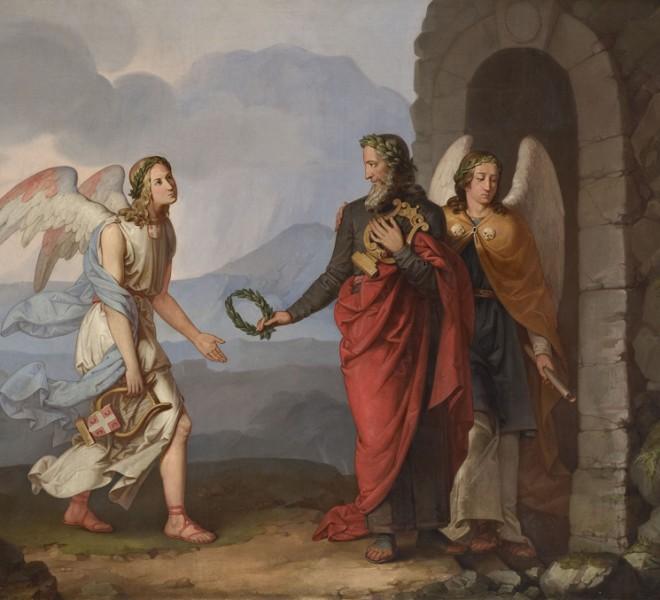 Dimitrije Avramović, Apoteoza Lukijana Mušickog, 1840.