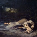 Ђорђе Крстић, Утопљеница, 1879. уље на платну, 141,5 х 216,5 cm