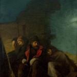 Ђура Јакшић, Одмор после боја (Караула), 1876. уље на платну, 80,5 х 61 cm