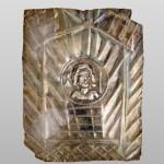 Емблема са представом Јупитера, сребро, остава из Текије (Transdierna),  друга половина 1. века