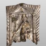 Емблема са представом Магна Матер, сребро, остава из Текије, друга половина 1. века  н.е.