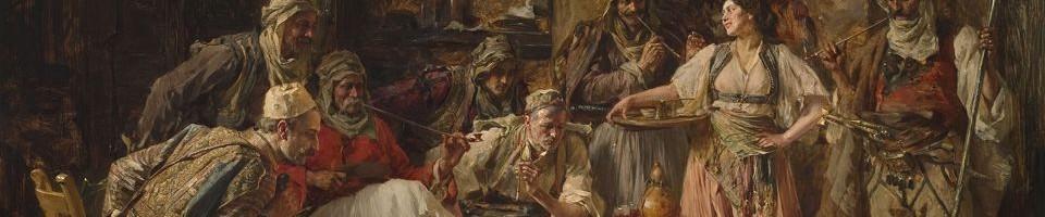 Паја Јовановић, Борба петлова, детаљ, Збирка српског сликарства 18. и 19. века