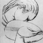 Иван Мештровић, Девојка са лутњом, 1920
