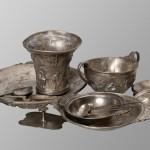 Јубучје код Лазервца, остава сребрног посуђа