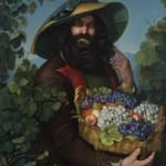 Катарина Ивановић, Италијански виноградар, 1842. уље на платну, 110 х 82 cm