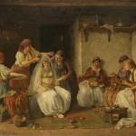 Паја Јовановић, Кићење невесте, Збирка српског сликарства 18. и 19. века