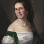 Константин Данил, Портрет госпође Вајлинг, око 1845. уље на платну, 58 х 48 cm