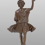 Лар, бронза, Стоби, 1. век