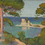 Milan Milovanović,  Na obali kod Hilandara, 1907