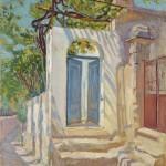 Milan Milovanović,  Plava vrata, 1917