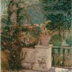 Milan Milovanović, Terasa slikara Đuzepa,1917, 1907
