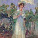 Nadežda Petrović, Žena sa suncobranom, 1907