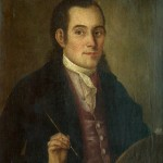 Никола Нешковић, Аутопортрет, 1775. уље на платну, 48 х 56 cm