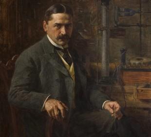 Paja Jovanović, Mihajlo Pupin