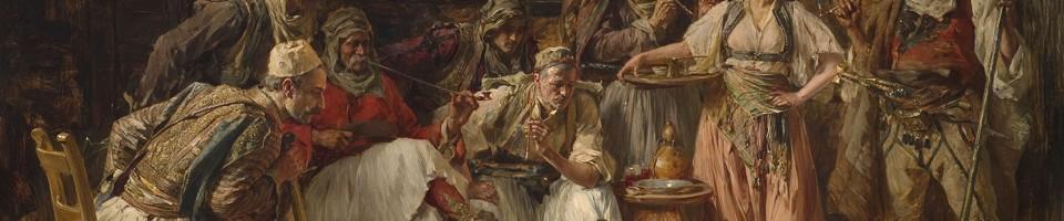 Паја Јовановић, Борба петлова, Збирка српског сликарства 18. и 19. века