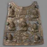 Пекторал, месинг, Ритопек (Castra Tricornia), 3. век