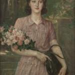 Портрет Софије Циклај, 1943, Збирка српског сликарства 18. и 19. века